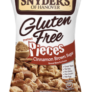 Snyder's of Hanover Gluten Free Cinnamon Brown Sugar Pretzel Pieces Package
