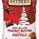 Snyder's of Hanover Milk Chocolate Peanut Butter Filled Pretzels 5oz Package